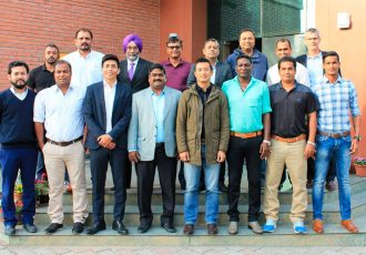 Former greats of Indian football come together for a cause (Photo courtesy: AIFF Media)