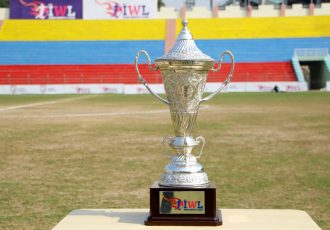 Indian Women's League (IWL) trophy (Photo courtesy: AIFF Media)