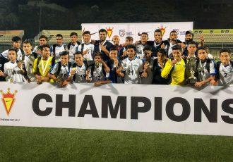 Minerva Punjab FC triumph their second Nike Premier Cup (AIFF U-16 Youth League - Final Round) title (Photo courtesy: I-League Media)