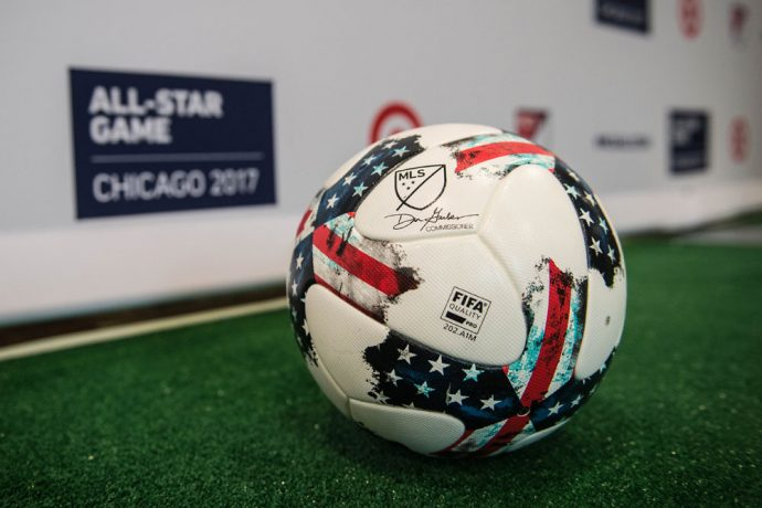 2017 MLS All-Star Game Match Ball (Photo courtesy: Jane Sexton / MLS)
