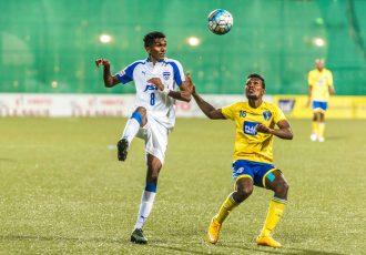 Bengaluru FC midfielder Lenny Rodrigues in action at The Cooperage Stadium, in Mumbai (Photo courtesy: Bengaluru FC)