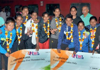FAO felicitate Indian Women's League (IWL) runners-up Rising Student Club