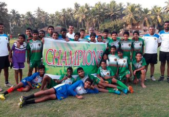 The Salgaocar FC Under-14 boys team (Photo courtesy: Salgaocar FC)