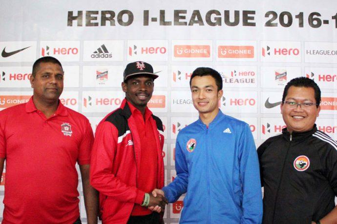 Shillong Lajong FC v Churchill Brothers SC Pre-Match Press Conference (Photo courtesy: Shillong Lajong FC)