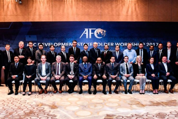 Asian Football Confederation hosts first AFC Development Stakeholder Workshop (Photo courtesy: AFC)