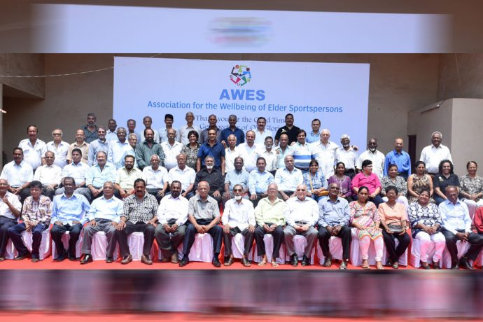 Goan football's greats gather under one roof as part of an AWES function