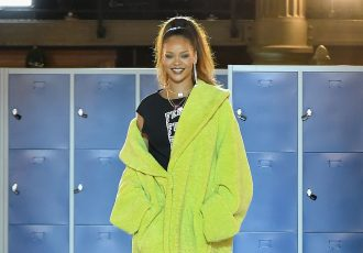 The Autumn Winter 2017 FENTY PUMA by RIHANNA celebrated with top honours in Paris (Photo courtesy: PUMA)
