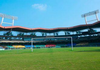 The Jawaharlal Nehru Stadium in Kochi (Photo courtesy: AIFF Media)