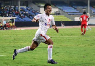 Aizawl FC star Laldanmawia Ralte (Photo courtesy: I-League Media)