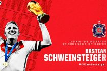 Chicago Fire acquires Germany legend Bastian Schweinsteiger as Designated Player (Image courtesy: Chicago Fire SC)