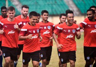 Bengaluru FC players during a training session (Photo courtesy: Bengaluru FC)