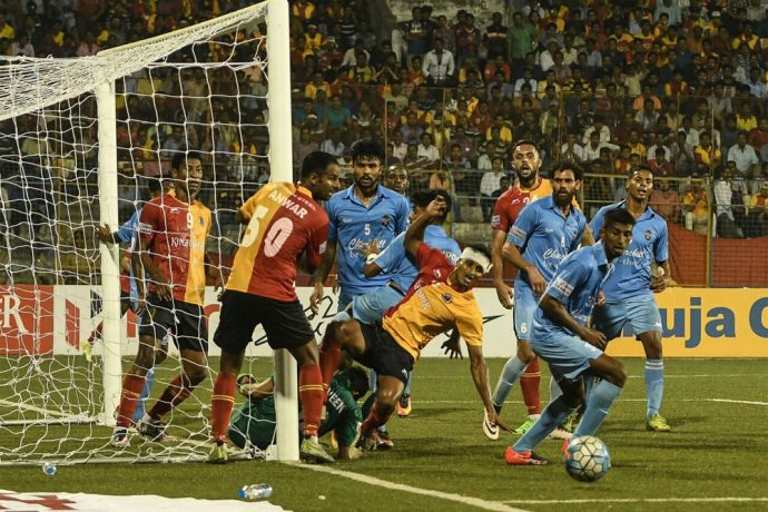 East Bengal fall prey to giant-killers Churchill Brothers (Photo courtesy: I-League Media)