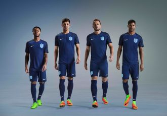 New away kit in classic navy for England National Team (Photo courtesy: Nike)