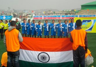 Indian Women's Senior National Team (Photo courtesy: AIFF Media)