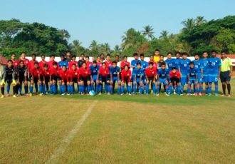 Indian Women's national team lose 1-3 against AIFF U-16 Colts (Photo courtesy: AIFF Media)
