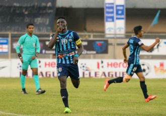 Minerva Punjab FC share spoils with I-League leaders Aizawl FC (Photo courtesy: I-League Media)
