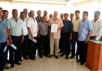 Santosh Trophy 2017 Organizing Committee Meeting (Photo courtesy: Goa Football Association)