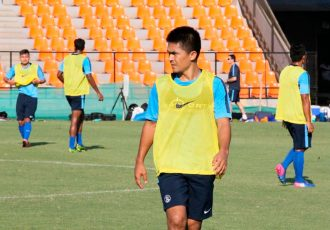 India striker Sunil Chhetri (Photo courtesy: AIFF Media)