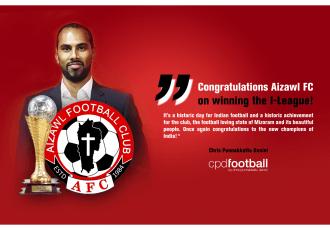 Congratulations Aizawl FC on winning the I-League!