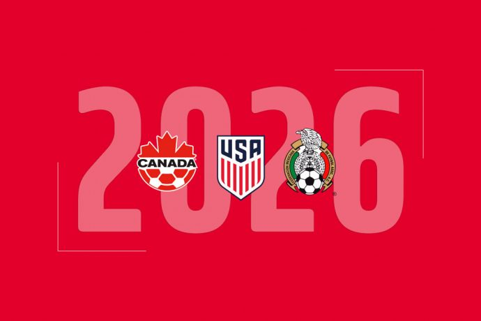 United States, Canada and Mexico declare intention to submit unified bid to host 2026 FIFA World Cup (Image courtesy: U.S. Soccer)