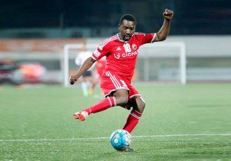 Shillong Lajong FC star striker Aser Dipanda Dicka (Press Release: Shillong Lajong FC)