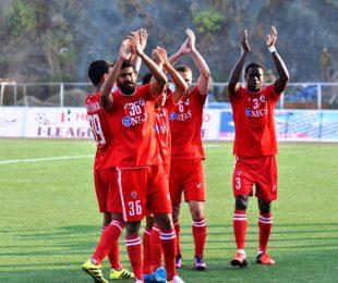 Aizawl FC's Ashutosh Mehta (Photo courtesy: I-League Media)