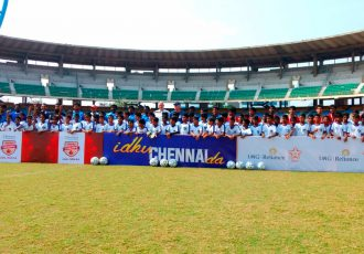 Chennaiyin FC conducts finals selection for Reliance Foundation Young Champs (Photo courtesy: Chennaiyin FC)