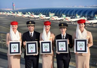 Emirates named Best Airline in the World in TripAdvisor Travelers' Choice Awards for Airlines 2017 (Photo courtesy: Emirates)