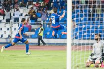 Marjan Jugović the hero as Bengaluru FC beat Aizawl FC (Photo courtesy: Bengaluru FC)