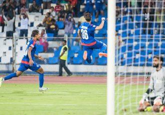 Marjan Jugović the hero as Bengaluru FC beat Aizawl FC (Photo courtesy: Bengaluru FC)