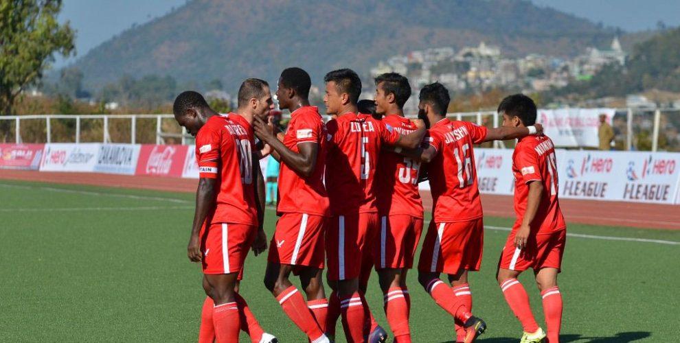 Aizawl FC (Photo courtesy: I-League Media)