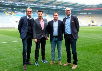 DSC Arminia Bielefeld and Joma sign partnership starting from 2017/18 season (Photo courtesy: DSC Arminia Bielefeld)