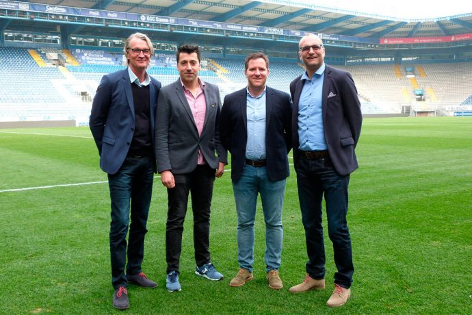 DSC Arminia Bielefeld and Joma sign partnership starting from 2017/18 season (Photo courtesy: DSC Arminia Bielefeld)