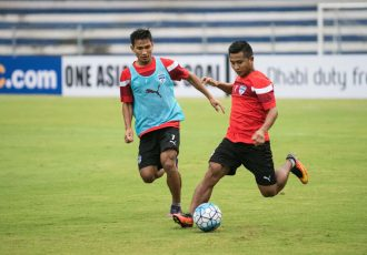 Bengaluru FC defender Sena Ralte in training at the Kanteerava Stadium (Photo courtesy: Bengaluru FC)