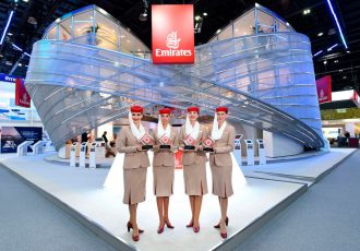 Emirates' focus on meeting and exceeding customer expectations both in the air and on the ground were recognised with four accolades at the Business Traveller Middle East 2017 Awards. (Photo courtesy: Emirates)