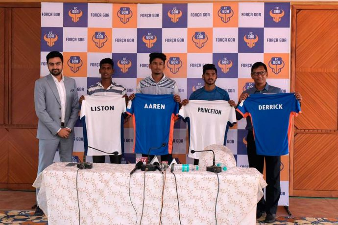 FC Goa sign Derrick Pereira as their Head of Youth Development & ISL Assistant Coach (Photo courtesy: FC Goa)