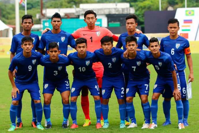 FIFA U-17 World Cup India 2017 bound India U-17 national team (Photo courtesy: AIFF Media)
