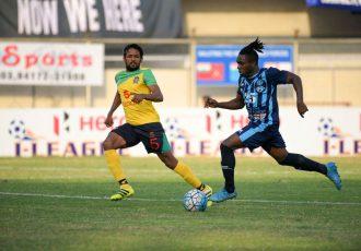 Minerva Punjab FC fall prey to reviving Chennai City FC at home (Photo courtesy: I-League Media)