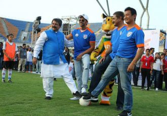 Football takes over Gujarat with Mission XI Million Festival in Ahmedabad (Photo courtesy: FIFA U-17 World Cup India 2017 LOC)