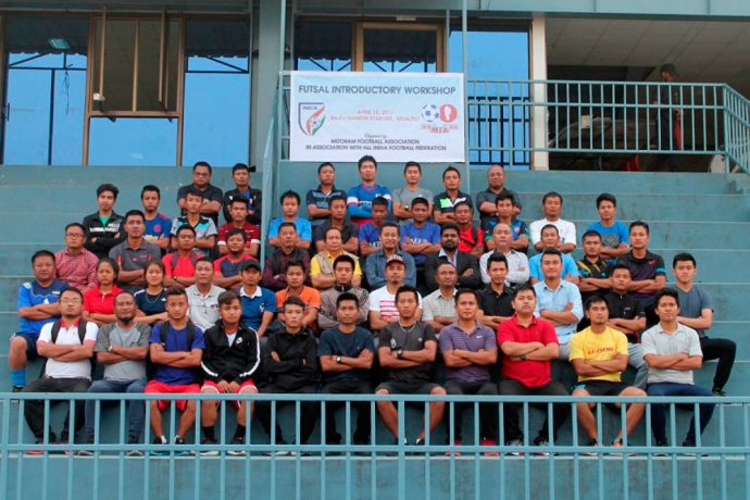 Mizoram Football Association conducts Futsal Introductory Workshop (Photo courtesy: AIFF Media)