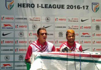 Mohun Bagan AC press conference (Photo courtesy: I-League Media)