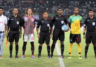 Mohun Bagan defeat Chennai City FC 2-1, finish second in Hero I-League 2016-17 (Photo courtesy: AIFF Media)