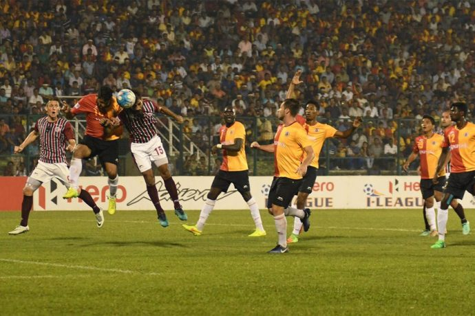 Dominant Mohun Bagan outplay arch-rivals East Bengal in Kolkata Derby (Photo courtesy: I-League Media)