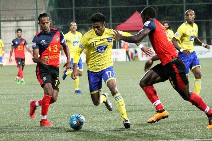 Óscar Bruzón's Mumbai FC share spoils with Chennai City FC (Photo courtesy: I-League Media)