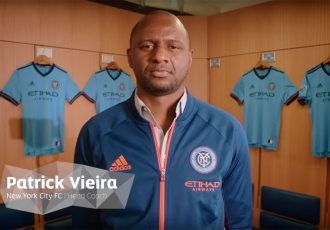 CITY2CITY | Beijing | Episode 2 | Patrick Vieira discusses grassroots football in New York (Photo courtesy: Screenshot - City2City)