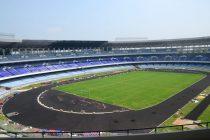 Kolkata's iconic Vivekananda Yuva Bhartiya Krirangan Saltlake Stadium (Photo courtesy: FIFA U-17 World Cup India 2017 LOC)