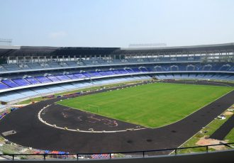 Kolkata's iconic Vivekananda Yuva Bhartiya Krirangan Saltlake Stadium (Photo courtesy: FIFA U-17 World Cup India 2017 LOC)