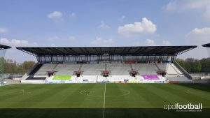 Stadion Essen - The home ground of Rot-Weiss Essen and SGS Essen (Photo courtesy: CPD Football)