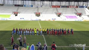 Allianz Frauen-Bundesliga (Women's Bundesliga) match SGS Essen v 1. FFC Turbine Potsdam (Photo courtesy: CPD Football)
