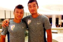 Indian national team players Lalruatthara and Laldanmawia Ralte (Photo courtesy: AIFF Media)